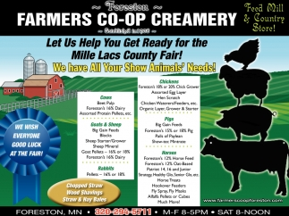 Let us Help You Get Ready for the Mille Lacs County Fair
