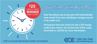 Save Time with Auto Pay