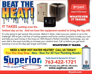 Heating, Air Conditioning, Electric & Plumbing Services