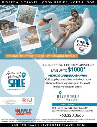 Annual Private Sale