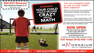 Your Child Could Become Crazy About Math, Mathnasium The Math ...