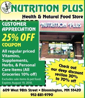 Health & Natural Food Store