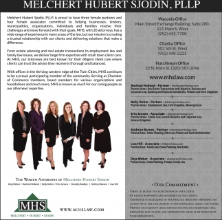 The Women Attorneys of Melchert Hubert Sjodin