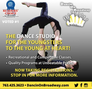 The Dance Studio for the Youngsters to the Young at Heart!