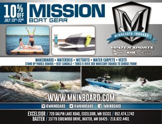 Mission Boat Gear