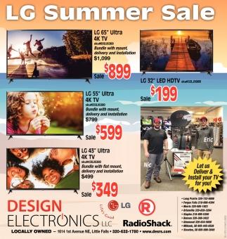 LG Summer Sale