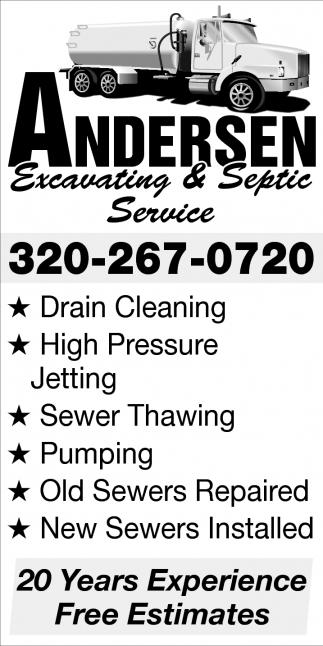 Excavating & Septic Service