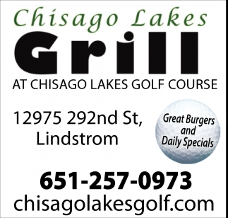 Great Burgers and Daily Specials