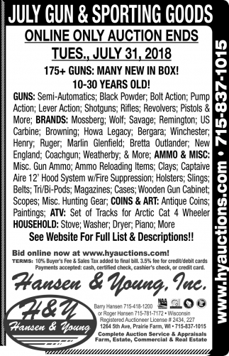 July Gun & Sporting Goods