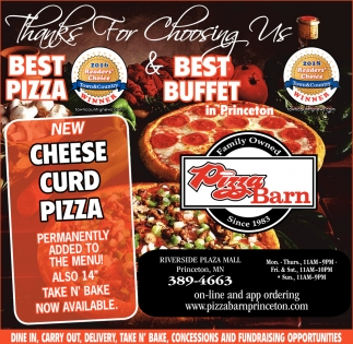 Thanks for Choosing us Best Pizza & Best Buffet in Princeton