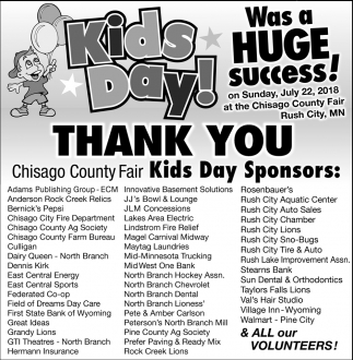 Kids Day was a Huge Success!