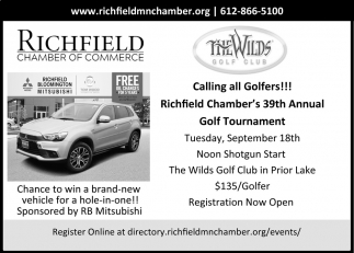 39th Annual Golf Tournament