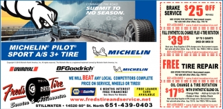 We will Beat any Local Competitors Complete Price on Services, Wheel or Tires!