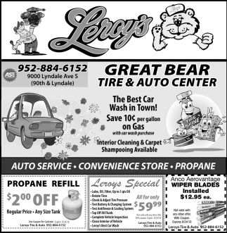 Great Bear Tire And Auto Center