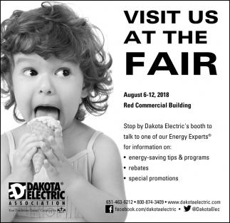 Visit us at the Fair