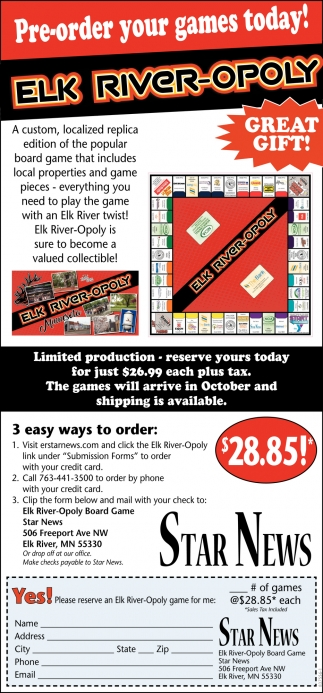 Pre-Order Your Games Today!