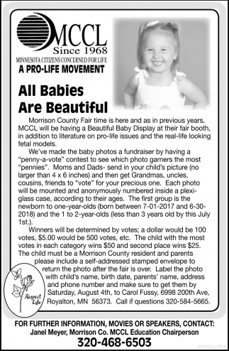 All Babies are Beautiful