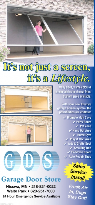 Etonnant Itu0027s Not Just A Screen, Itu0027s A Lifestyle, Garage Door Store, Waite Park, MN