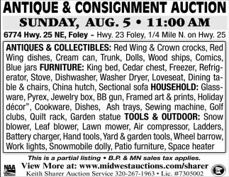 Antique & Consignment Auctions