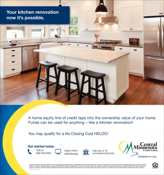 Your Kitchen Renovation Now it's Possible