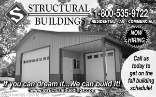 If you can dream it... We can build it.