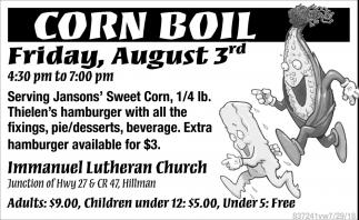Corn Boil