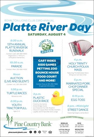 Platte River Day