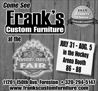 Franku0027s Custom Furniture, Franku0027s Custom Furniture, Foreston, MN