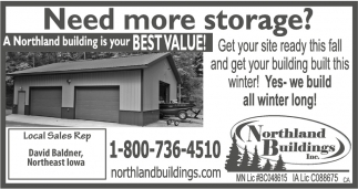 Need More Storage?