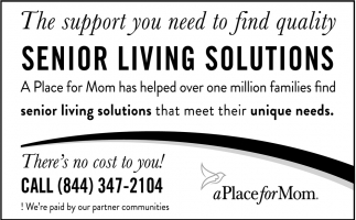 The Support You Need To Find Quality Senior Living Solutions