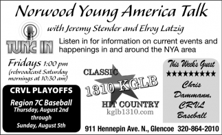 Norwood Young America Talk