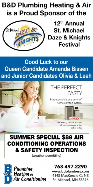 Good Luck to Our Queen Candidate Amanda Bissen and Junior Candidates Olivia & Leah