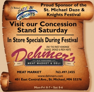 Visit Our Concession Stand Saturday