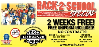 2 Weeks FREE!