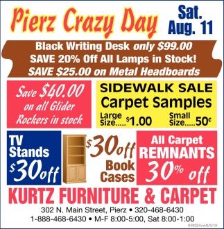 Pierz Crazy Day