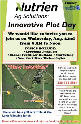 Innovative Plot Day