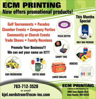 Now Offers Promotional Products