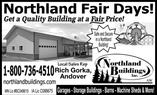 Get a Quality Building at a Fair Price!