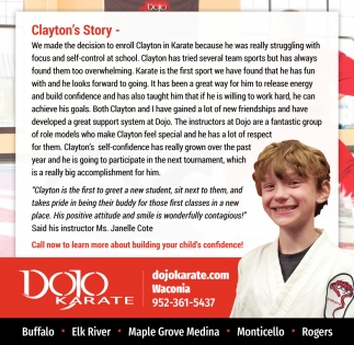 Clayton's Story