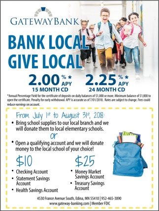 Bank Local. Give Local