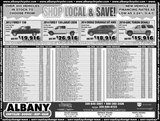 Shop Local & Save!