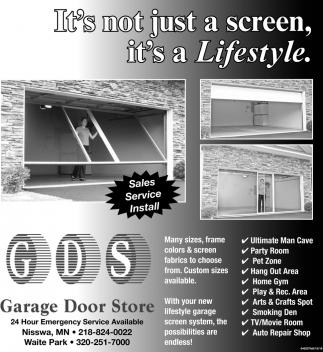 Attirant Itu0027s Not Just A Screen, Itu0027s A Lifestyle, Garage Door Store, Waite Park, MN