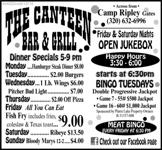 The Canteen Bar & Grill