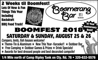 Boomfest 2018