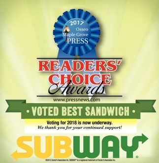 Voted Best Sadwich