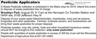 Pesticide Applicators