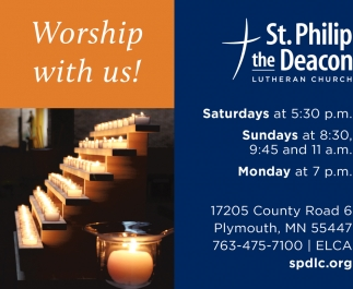 Worship with Us!