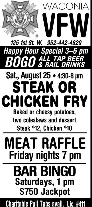 Steak or Chicken Fry