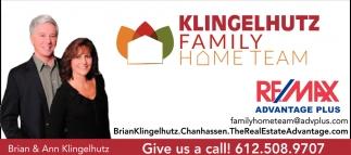 Klingelhutz Family Home Team