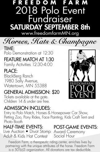 2018 Polo Event Fundraiser